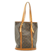 LOUIS VUITTON Monogram Bucket GM Shoulder Bag M42236 LV Auth 9129 **Screw - $150.00