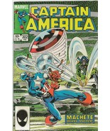 Captain America #302 ORIGINAL Vintage 1985 Marvel Comics Machete - $14.84