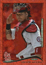 2014 Topps Red Foil #57 Yadier Molina -St.Louis Cardinals- - $4.11