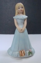 Enesco Growing Up Birthday Girls Age 10, No Box - $7.99