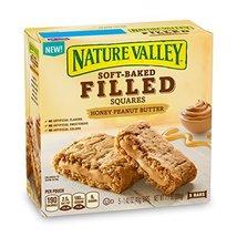 Nature Valley Soft Baked Filled Squares Honey Peanut Butter, 7.1 oz - $8.55