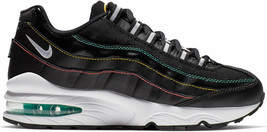"""Nike Air Max 95 """"Game Change"""" Youth Size 4.0 To 5.5 Black New Rare Stylish - $139.99"""