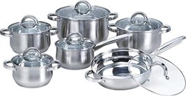 Heim Concept W-001 12-Piece Induction Ready Stainless Steel Cookware Sets with G image 8