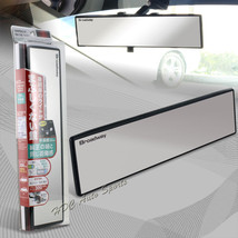 Broadway 300MM Wide Flat Interior Clip On Rear View Clear Mirror Univers... - $11.29