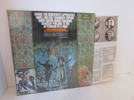 DUKAS THE SORCERER'S APPRENTICE... PIERRE DERVAUX RECORD ALBUM 60177  L114B - $8.77