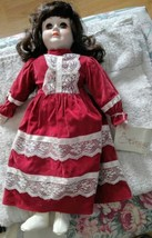 Authentic musical heritage collectors music box doll - $3.43