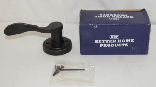 Better Home Products N80311DBLT Lever Dummy Left Hand Dark Bronze