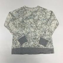 Eddie Bauer Sweatshirt Women's Small Long Sleeve Gray Legend Wash Cotton... - $18.95