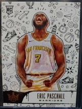 2019/20 Panini Court Kings Eric Paschall #139 Level 3 Rookie Warriors RC - $0.98