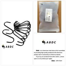 OPCC 20 PCS Black Color Heavy-duty Steel S-hooks for Plants, Towels with... - €10,43 EUR