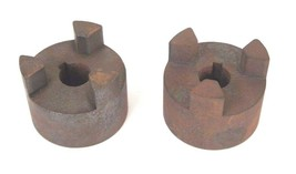 LOT OF 2 MARTIN ML-100 JAW COUPLINGS 20MM BORE ML100
