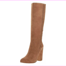 Vince Camuto Coranna Suede Fringe Detailed Tall Shaft Boot Tree House, Size 11  - $84.69