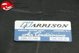 70 Camaro, Nova, Impala, GM/CHVY Truck Harrison Ac Evaporator Box Decal - $13.75