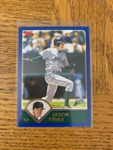 Topps 488 Jason Tyner Tarjeta - $11.01