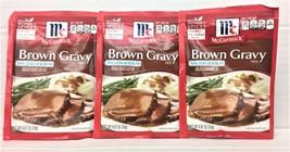 McCormick Brown 30% Less Sodium Gravy Mix 0.87 oz (3 Pack) - $5.11