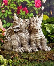 Dragon Couple Garden Statue - $32.89