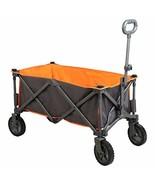 PORTAL Collapsible Folding Utility Wagon Quad Compact Outdoor Garden Cam... - $99.09