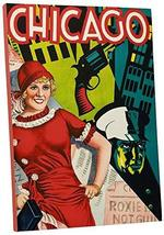 "Pingo World 0617QTFU3D4 ""Chicago Musical Vintage"" Advertising Poster Gallery Wra - $57.37"