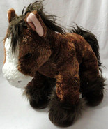 """BABW PAWSOME PONY Retired Brown Clydesdale Horse 15"""" inch Plush Build A ... - $21.99"""
