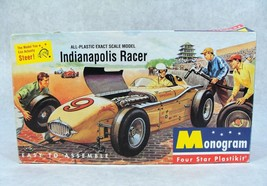 MONOGRAM CLASSIC INDIANAPOLIS RACER CAR MODEL KIT NEW! - $39.59