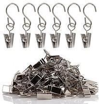 Teenitor Party Light Hanger, Gutter Hangers For Lights, Curtain Clips Ha... - $30.40