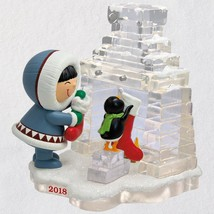 Frosty Friends Hanging Stockings 2018 Hallmark Ornament - $22.76