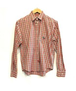 Cruel Girl Western Shirt Long Sleeve Small Red Plaid Punchy - £12.87 GBP