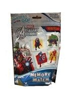 AVENGERS ASSEMBLE 54 MEMORY MATCH CARDS GAME BY MARVEL - $9.40