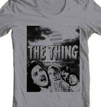 The Thing From Another World T Shirt 1951 vintage sci fi horror movie cotton tee image 2
