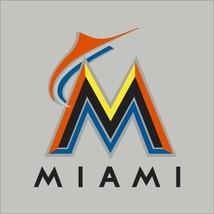 Miami Marlins MLB Team Logo Vinyl Decal Sticker Car Window Wall Cornhole - $4.40+