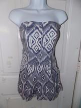 Charlotte Russe Purple Design Romper Size S Women's EUC - $20.75