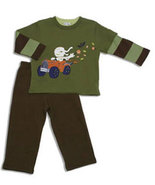 Le Top Toddler Boys Halloween Set  - $40.00