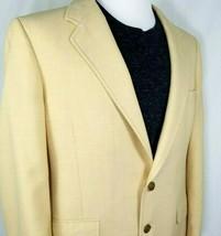 Hart Schaffner Marx Sport Coat Mens Size 42 Regular Jack Nicklaus Gold W... - $43.52