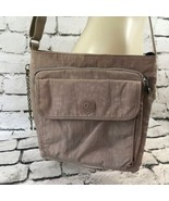 "Kipling Womens Purse Gray Shoulder Bag 11""x9"" - $29.69"