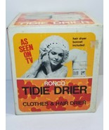 Vintage Ronco Tidie Drier Clothes & Hair Drier with Bonnet As seen on TV - $19.59
