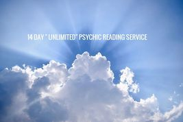 """14 DAY """" UNLIMITED"""" PSYCHIC READING SERVICE  - $99.00"""