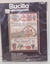 bucilla home is where the heart is 48723 Cross Stitch Kit - $17.75