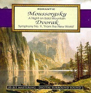 Night on Bald Mountain / Symphony 9 [Audio CD] Mussorgsky and Dvorak