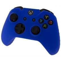 Xbox ONE © Controller pelle blu custodia in Silicone cotura Gel protetti... - $7.73
