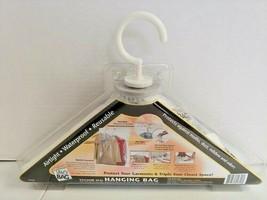 Original Space Bag Vacuum - Seal Large Hanging Garment Bag Protect FREE ... - $17.81