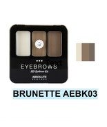 ABSOLUTE NEW YORK NEW HD EYEBROW KIT COLOR: BRUNETTE  AEBK03 - $3.91