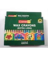Crayons  Wax Crayons  36 Shades  Camlin Kokuyo  Camel Wax Crayons - $9.37