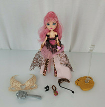 Mattel Ever After High Doll Thronecoming CA Cupid Wings Dress Boots Purs... - $54.44
