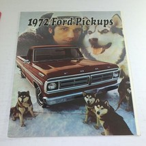 1972 Ford Pickups Colors & Combination Dealership Car Auto Brochure Catalog - $14.21