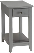 Acme Furniture 82838 Bertie Side Table, Gray, One Size - $121.98