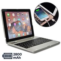 Apple iPad 4 keyboard case, 3 2 case [Bluetooth Keyboard Case Power Bank... - $71.88
