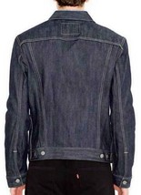Levi's Men's Premium Button Up Denim Jeans Jacket Relaxed Rigid 723350005 image 2