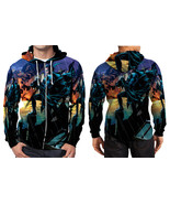 Nightwing Night Rain Zipper Hoodie Men's - $48.99+