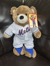 "Build A Bear Teddy Bear Cute Soft NY Mets Animals Plush 16"" NWT - $29.70"