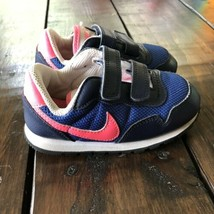Toddler Girl Nike Shoes Size 8 Blue/Pink/white  - $14.03